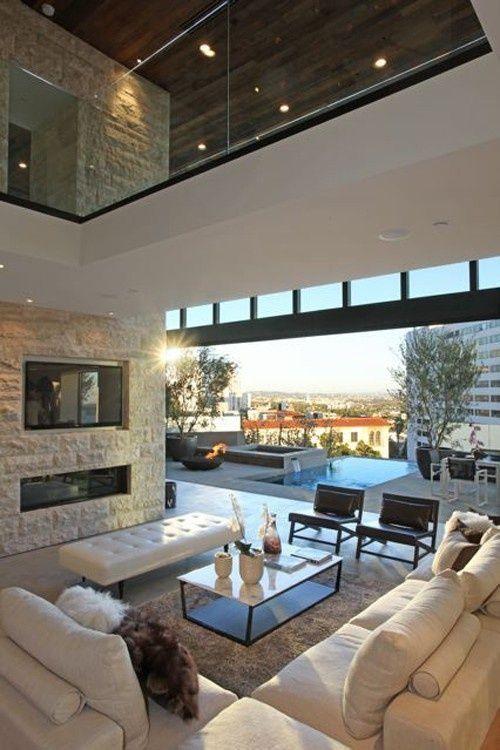 بازسازی و تعمیرات خانه/ استفده از مناظر بیرونی