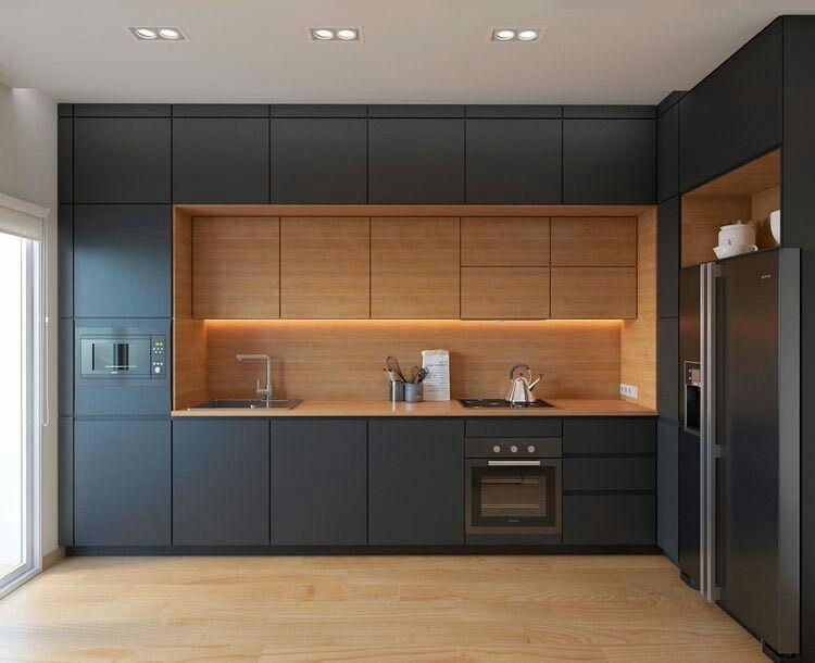 بازسازی و تعمیرات خانه/طرح مناسب آشپزخانه L شکل