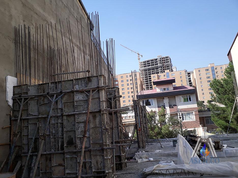 قالب-بندی-دیوار-برشی-پروژه-شهرک-دانشگاه-شریف